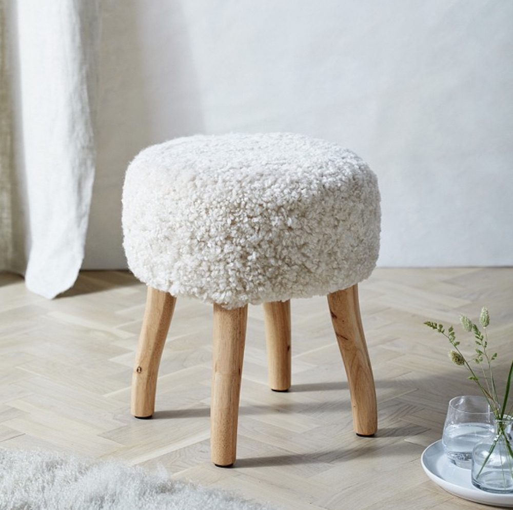 White Company stool