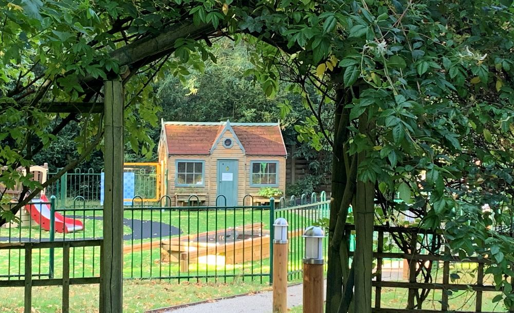early years play area at St Margaret's School Gosfield